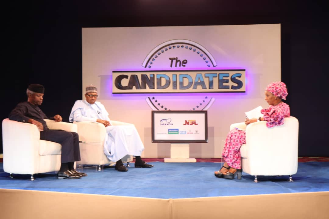 NGTheCandidates: Nigerians react after Buhari/Osinbajo debate